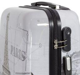 Cestovní kufra PARIS II malý S MONOPOL E-batoh
