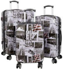 Cestovní kufry sada AMERICA L,M,S