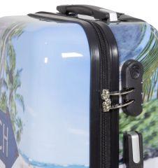 Cestovní kufry sada BEACH L,M,S MONOPOL E-batoh