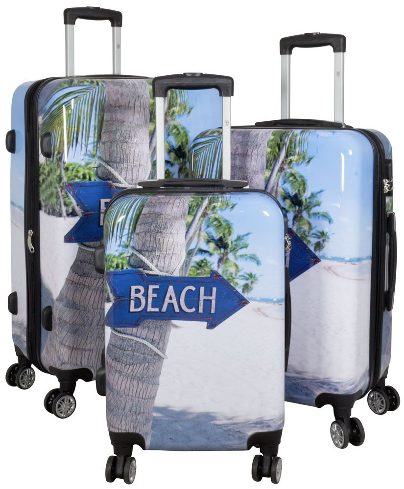 Cestovní kufry sada BEACH L,M,S