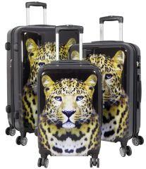 Cestovní kufry sada LEOPARD L,M,S