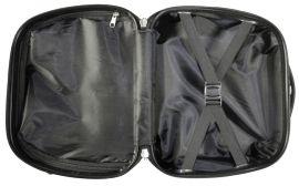Cestovní kufry sada MARTINIQUE M,S + kosmetický kufřík MONOPOL E-batoh