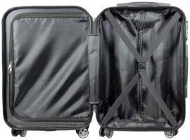 Cestovní kufry sada NEW YORK3 L,M,S MONOPOL E-batoh