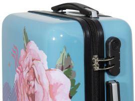 Cestovní kufry sada RŮŽE L,M,S MONOPOL E-batoh