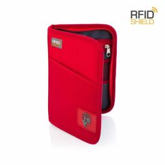 Heys RFID Blocking Passport Wallet Red