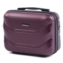 Kosmetický kufřík WINGS 147 ABS BURGUNDY