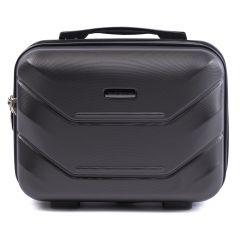 Kosmetický kufřík WINGS 147 ABS DARK GREY