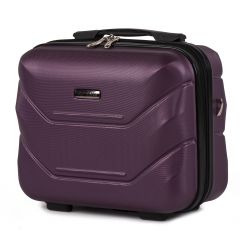 Kosmetický kufřík WINGS 147 ABS DARK PURPLE