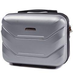 Kosmetický kufřík WINGS 147 ABS SILVER