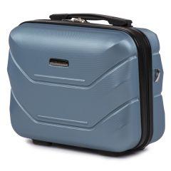 Kosmetický kufřík WINGS 147 ABS SILVER BLUE