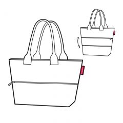 Reisenthel Shopper e1 Happy Flowers E-batoh