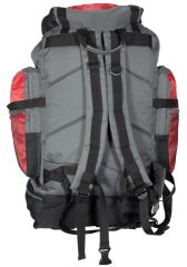 Cestovní KROSNA - BORDERLINE 80L černo-červená E-batoh
