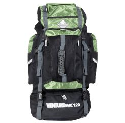 Cestovní KROSNA - BORDERLINE 80L černo-zelená