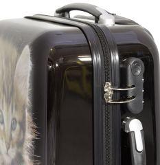 Cestovní kufr KOČKY malý S MONOPOL E-batoh