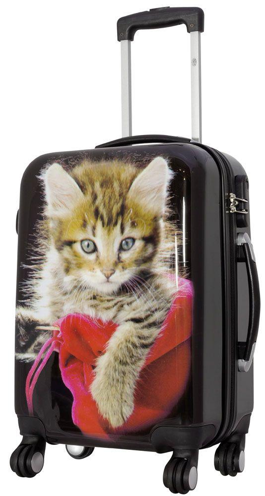 Cestovní kufr KOČKY malý S