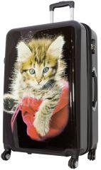 Cestovní kufr KOČKY velký L