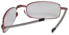 SKLÁDACÍ dioptrické brýle MINI 62-64 RED +2,50 E-batoh