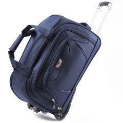 Cestovní taška na kolečkách WINGS modrá malá