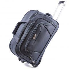 Cestovní taška na kolečkách WINGS šedá malá