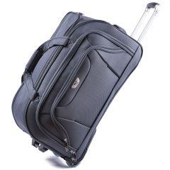 Cestovní taška na kolečkách WINGS šedá velká