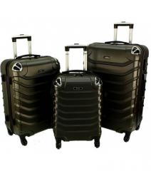 Cestovní kufry sada RGL 730 ABS GRAFIT L,M,S
