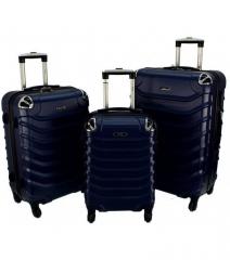 Cestovní kufry sada RGL 730 ABS DARK BLUE L,M,S