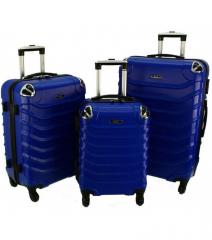 Cestovní kufry sada RGL 730 ABS BLUE L,M,S