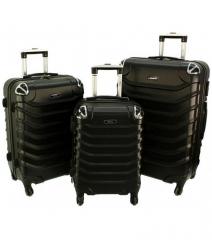 Cestovní kufry sada RGL 730 ABS BLACK L,M,S