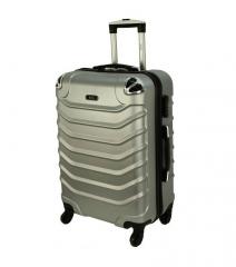 Cestovní kufr RGL 730 ABS SILVER střední M