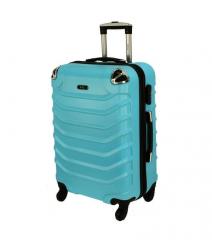 Cestovní kufr RGL 730 ABS LIGHT BLUE střední M