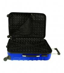 Cestovní kufr RGL 730 ABS SILVER malý XS E-batoh