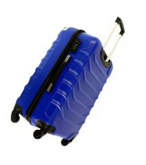 Cestovní kufr RGL 730 ABS LIGHT BLUE malý XS E-batoh