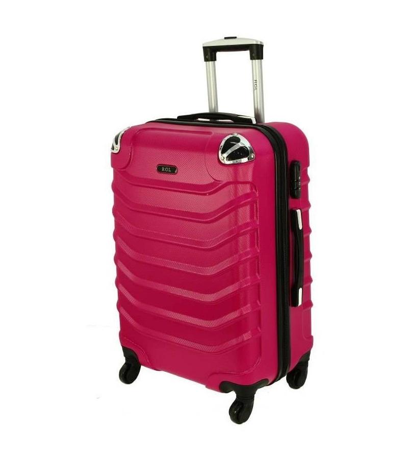 Cestovní kufr RGL 730 ABS PINK malý S