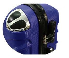 Cestovní kufr RGL 730 ABS BLUE malý XS E-batoh