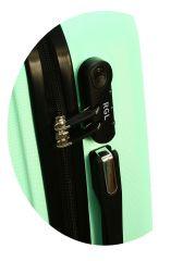 Cestovní kufr RGL 735 ABS GRAFIT střední M E-batoh