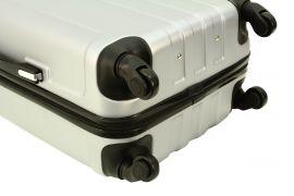 Cestovní kufr RGL 740 ABS BLUE METAL velký L E-batoh