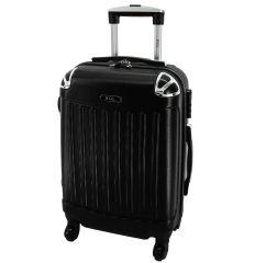 Cestovní kufr RGL 735 ABS BLACK střední M