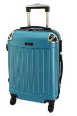 Cestovní kufr RGL 735 ABS BLUE METAL malý S