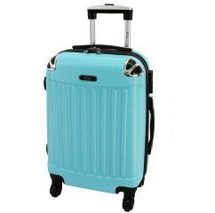 Cestovní kufr RGL 735 ABS LIGHT BLUE střední M