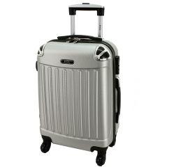 Cestovní kufr RGL 735 ABS SILVER střední M