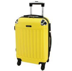 Cestovní kufr RGL 735 ABS YELLOW střední M