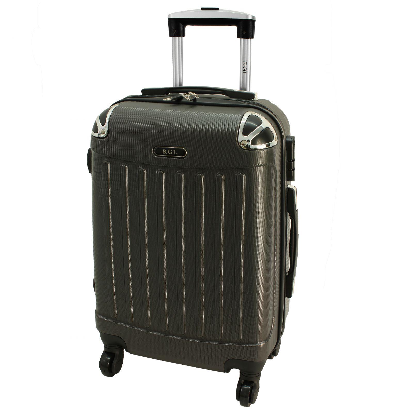 Cestovní kufr RGL 735 ABS GRAFIT malý S
