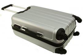 Cestovní kufr RGL 740 ABS PINK velký L E-batoh