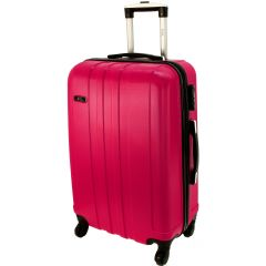 Cestovní kufr RGL 740 ABS PINK velký L