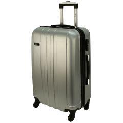Cestovní kufr RGL 740 ABS SILVER velký L