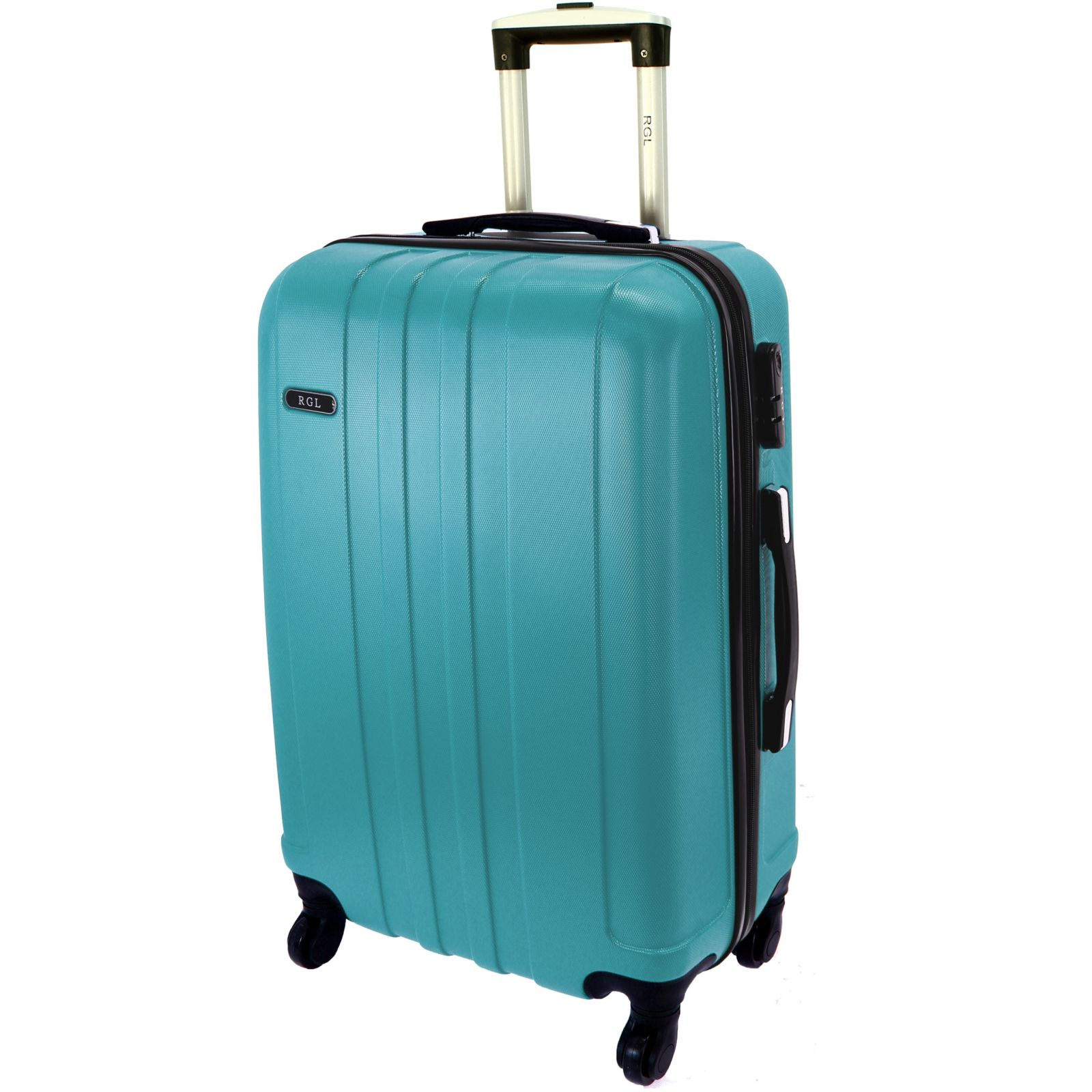 Cestovní kufr RGL 740 ABS BLUE METAL velký L