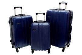 Cestovní kufry sada RGL 740 ABS DARK BLUE L,M,S