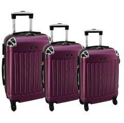 Cestovní kufry sada RGL 735 ABS VIOLET  L,M,S