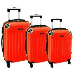 Cestovní kufry sada RGL 735 ABS ORANGE L,M,S