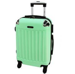 Cestovní kufry sada RGL 735 ABS LIGHT MENTOL L,M,S E-batoh